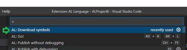 Download Symbols from Visual Studio Code
